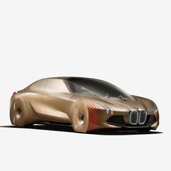 一百年后的汽车长啥样? 宝马集团推出旗下3款炫酷概念车图