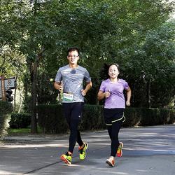 """361°全新专业跑鞋亮相首站""""敢超10K·+1体验""""跑步活动"""
