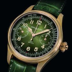 青铜表常见 可你见过绿色青铜腕表么?