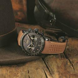 简单不羁 中性军装风Style腕表