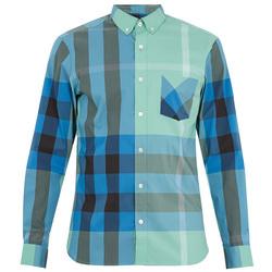 土气的格纹衬衫有了新配色