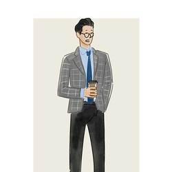 每日穿搭|007也戴过的针织领带