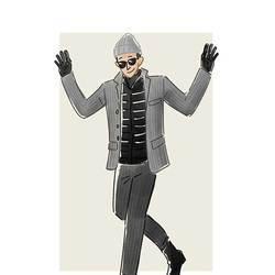 每日穿搭|羽绒马甲也可以当正装穿?