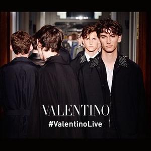 Valentino2017春夏男士系列
