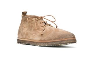 意式手工仿旧踝靴