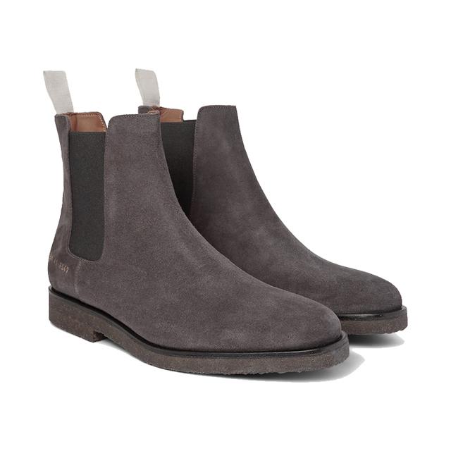 不止是小白鞋,他们还有切尔西靴