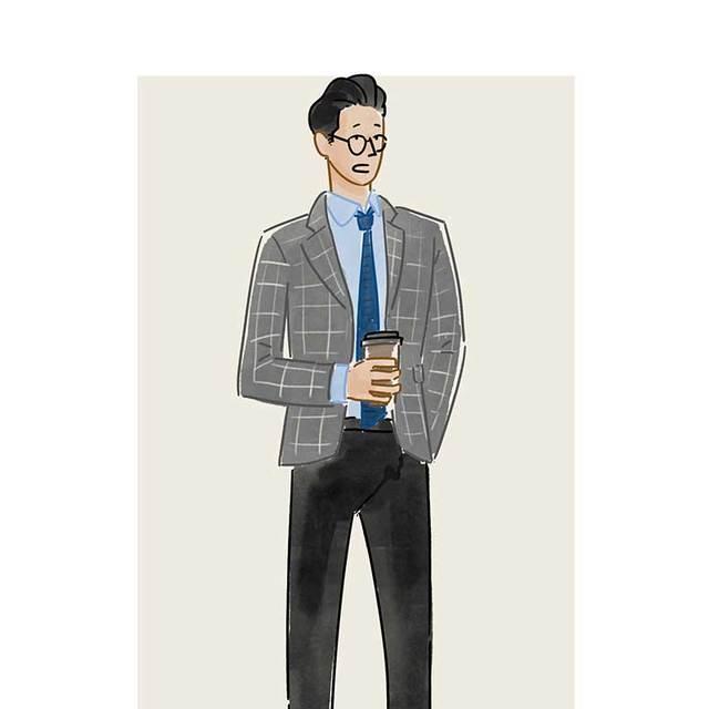 每日穿搭 007也戴过的针织领带