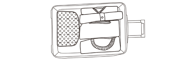 如何打包行李箱