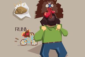美国人过感恩节,你们考虑过火鸡的感受么?