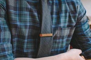 领带夹上的小文艺