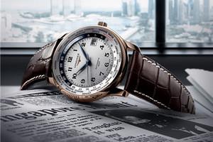 浪琴表新品 名匠系列GMT世界时新加坡纪念限量腕表