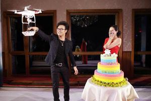 汪峰求婚章子怡 一起上头条的无人机还能做什么