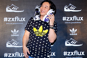 陈奕迅助阵adidas Originals ZX FLUX新品发布