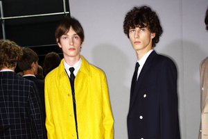 2016巴黎春夏男装周Dior Homme秀场后台
