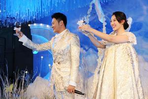 """印小天""""冰雪""""婚礼浪漫唯美  现场唱歌示爱怀孕娇妻"""