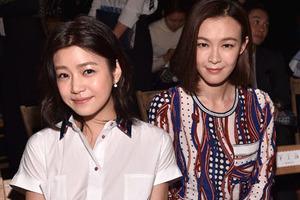 陈妍希与李艾身着Tommy Hilfiger服饰亮相纽约时装周