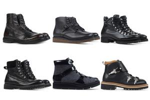入冬必备 10款硬汉黑靴