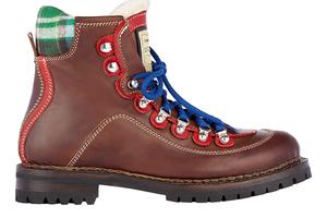 带来新鲜感的重型登山靴
