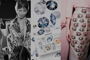 康泰纳仕时尚设计培训中心推出施华洛世奇仿水晶定制时装课程
