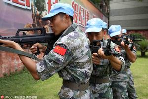 现实版《太阳的后裔》 ,中国赴黎巴嫩维和官兵特训