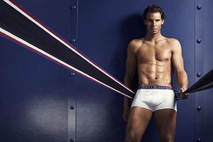 TOMMY HILFIGER发布2016年秋季Rafael Nadal内衣代言系列