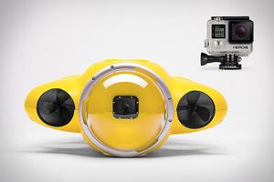 iBubble:自带Gopro水下探险无人机