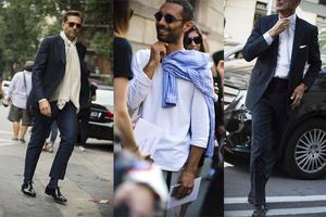 男装周上的最佳绅士着装