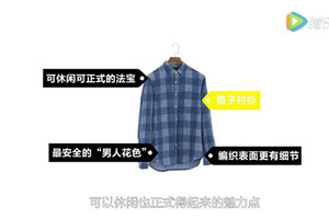 GQ60 | 格子衬衫