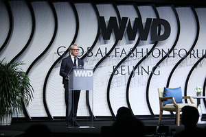 TOMMY HILFIGER为北京首届全球WWD年度时尚论坛作开场致辞