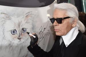 当我们谈论Karl Lagerfeld来华时,我们在谈论什么?