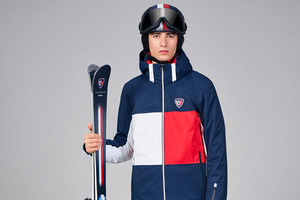 TOMMY HILFIGER于佛罗伦萨男装周期间发布与ROSSIGNOL合作的男式滑雪套装