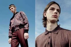 Dior Homme海报款印花短夹克