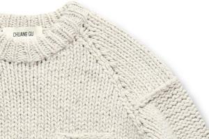 怎么扯都不会变形的重磅羊毛衫
