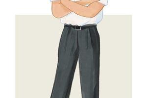 每日穿搭丨谁说男裤一定要修身?