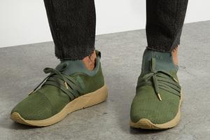 融合北欧建筑风格的运动鞋
