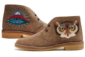 硬汉鞋上的趣味情怀