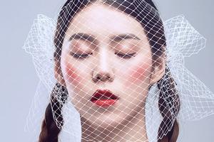 创意彩妆:纱