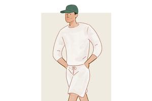每日穿搭|All White怎么穿
