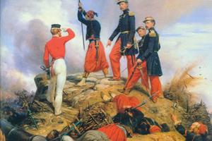 """漂亮的拿破仑军服比""""I WANT YOU""""管用多了"""