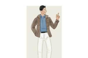 每日穿搭|穿工装夹克领略经典美式潮流
