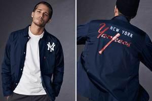 纽约洋基队的棒球夹克又将带一波潮流
