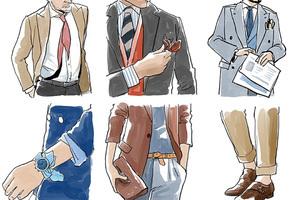 意大利男人从来?#35805;?#22871;路穿西装 因为帅要帅得若无其事