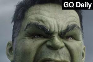 你周末看到绿巨人的屁股了吗?| GQ Daily