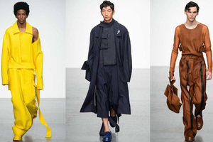 上海时装周中国男装各有看点