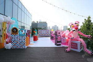 Happy Socks粉紅豹、QQ聯名系列禮盒發布