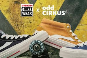 Vision Street Wear经典复刻系列鞋款正式发售 重温美式街头风