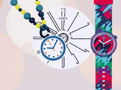 斯沃琪携手全球社交网络艺术家