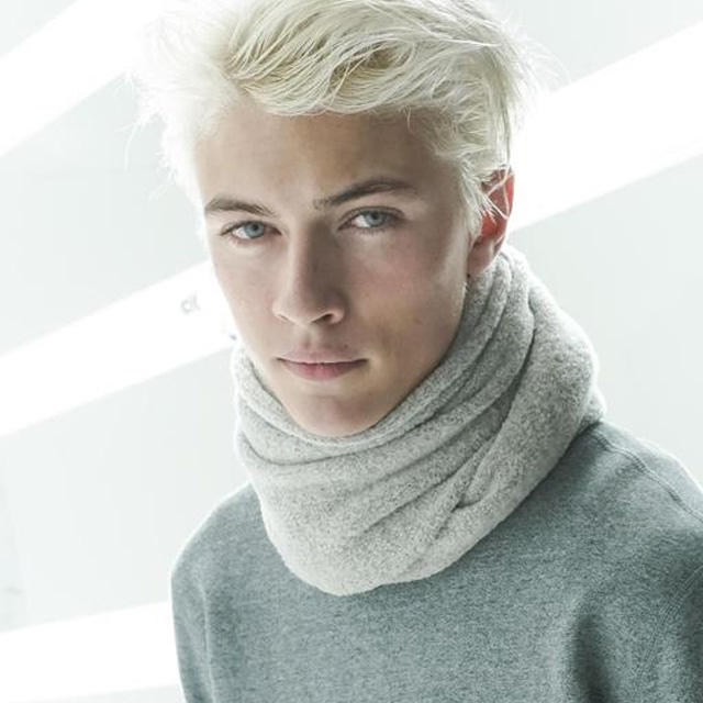 你也可以Lucky Blue Smith
