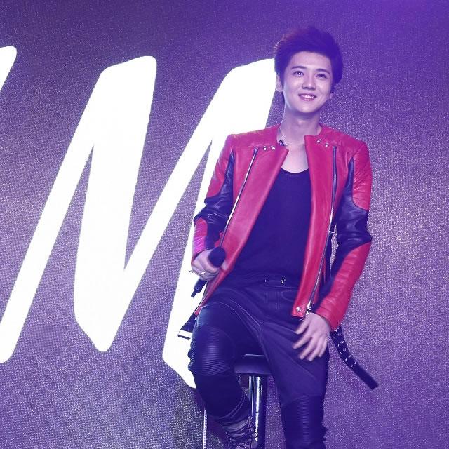 鹿晗 宋佳亮相BALMAIN X H&M设计师合作系列中国发布派对