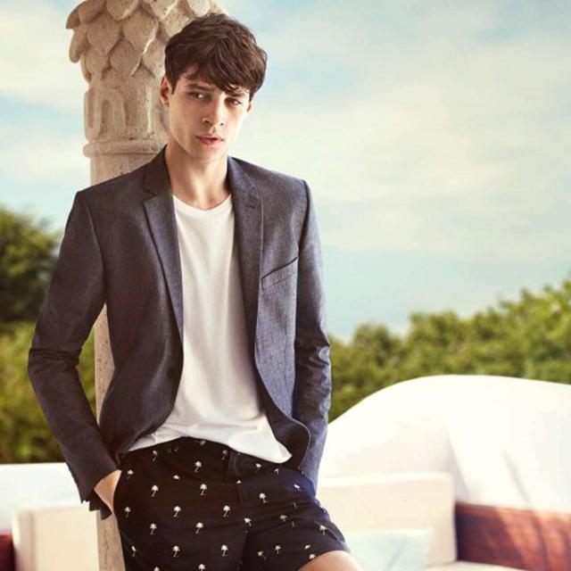 H&M 2016夏季热带系列男装型录